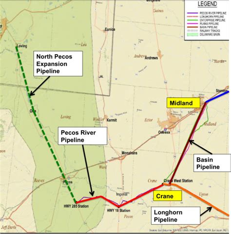 texas express pipeline map come gather pipelines permian crude gathering systems part 4 midland basin rbn energy
