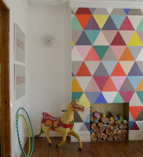 love this wall becomes the feature of the living room wohnzimmer wandgestaltung ideen coole beispiele f 252 r