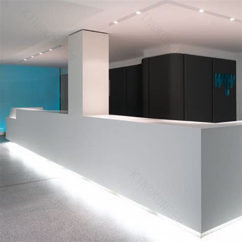 modern white reception desk white modern reception desk salon reception desk curved
