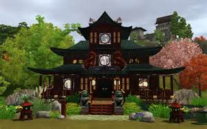 Asian Homes by Mod The Sims House Of The Red Dragons