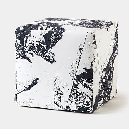 pedestal ottoman modern upholstered pedestal cube ottomans unison