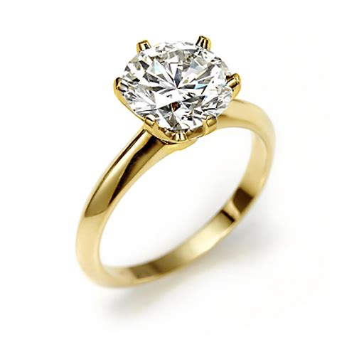 the discovered in gold engagement rings cherry