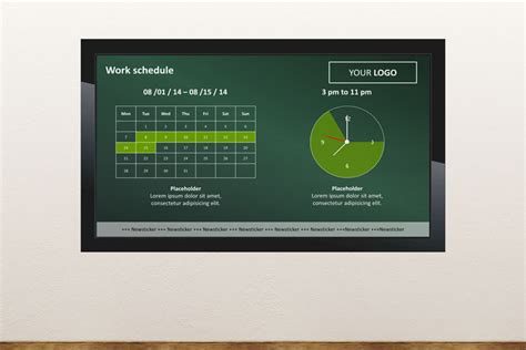 digital signage powerpoint template free digital signage templates presentationpoint