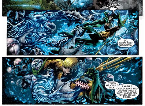 Aquaman Vol 1 The Trench The New 52 Graphic Novel Ebooke Book aquaman vs the of the trench comicnewbies