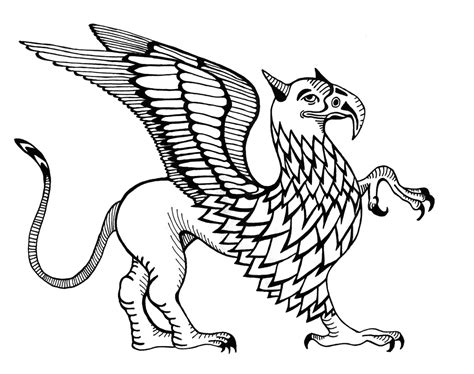 James Nicholls Illustration Griffin Griffin Coloring Pages
