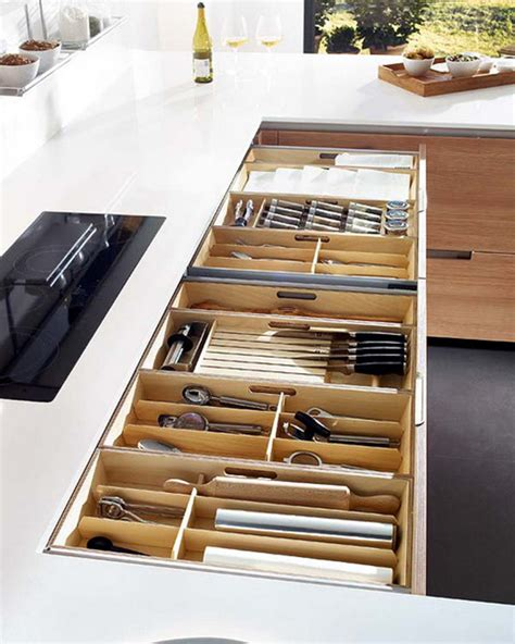 cutlery drawer organizer ideas wooden kitchen drawer ideas