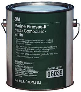 3m 06039 finesse it marine paste compound gallon 3m
