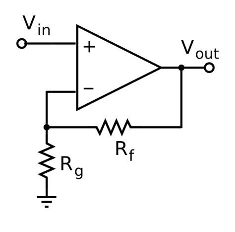 operational lifiers integrated and hybrid circuits file operational lifier noninverting svg