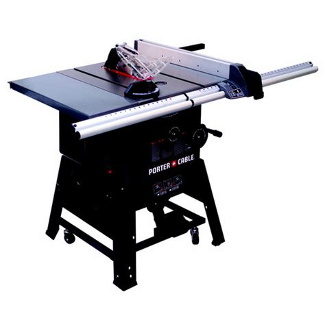 anyone seen the new porter cable stationary tablesaw