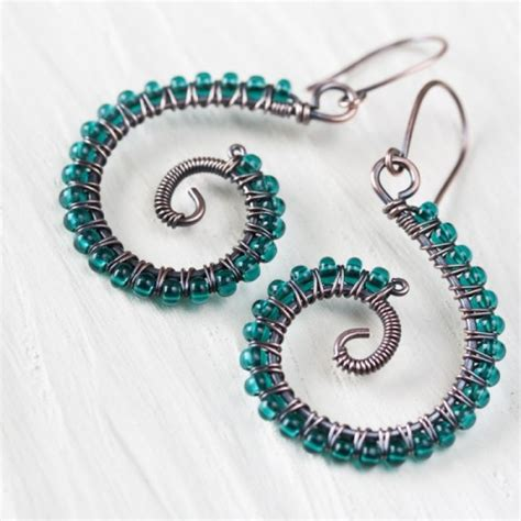 Handmade Beaded Earrings Designs - beaded rings free patterns memes