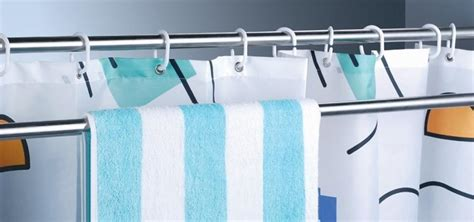 uses for curtain rods use extra shower curtain rods to increase bathroom storage