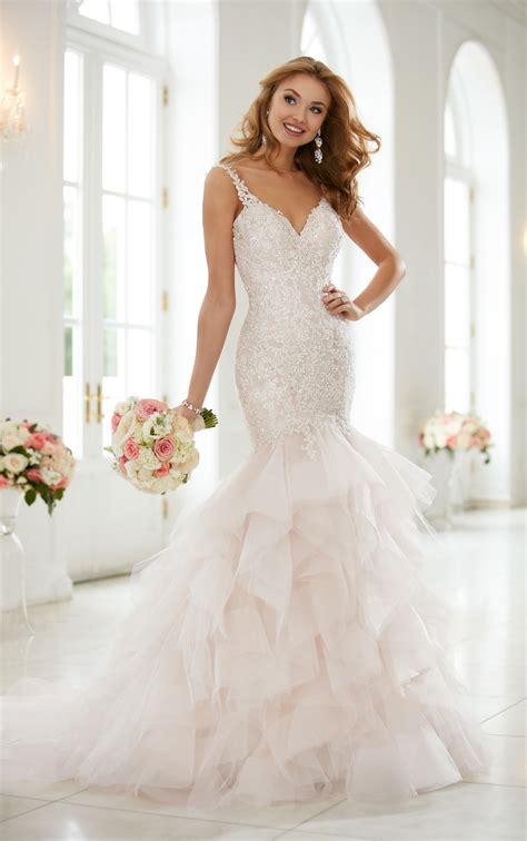 Brautkleider Bilder by Wedding Dresses Silver Lace Beaded Trumpet Dress