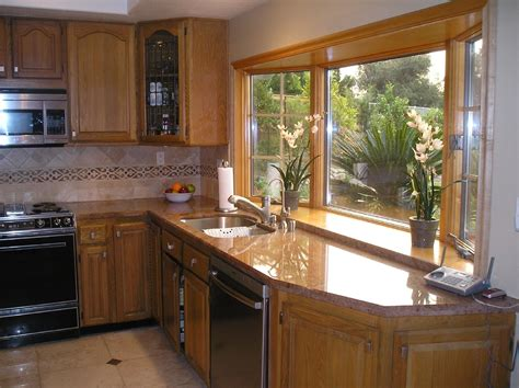 bay window kitchen ideas kitche bay windows view from one of 2 anderson bay