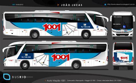 Auto Viação 1001 Logo by Busrio Auto Via 231 227 O 1001