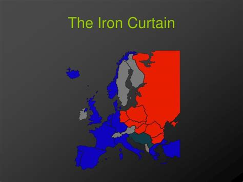 how was the iron curtain a dividing line ppt unit 4 a world divided and united powerpoint