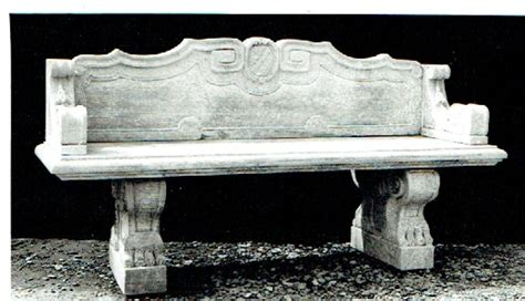 stone garden bench with back ornaments collection trellis trugs