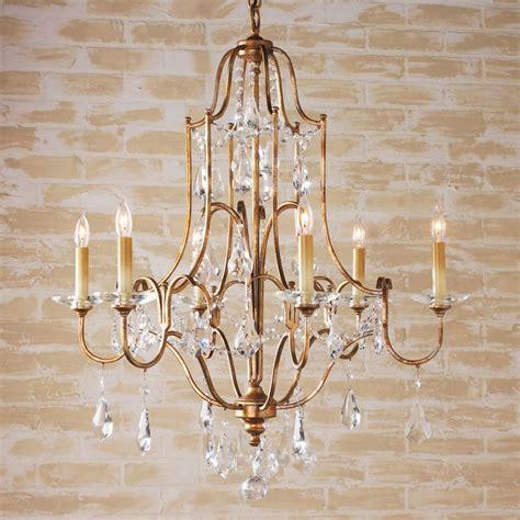 Swag In Chandelier elegance swag chandelier 6 lt