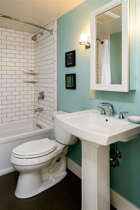 tile accent wall in bathroom bathroom remodel retro bathroom modern bathroom