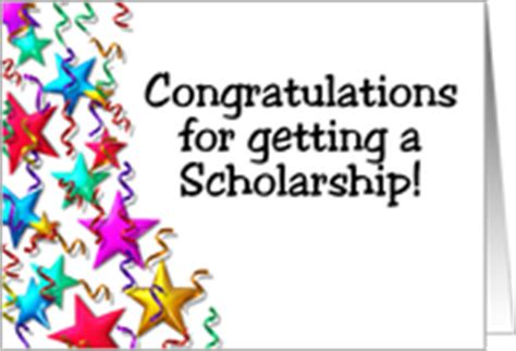 Getting The Scholarship If You Are Getting Mba by Congratulations On Your Scholarship Cards From Greeting