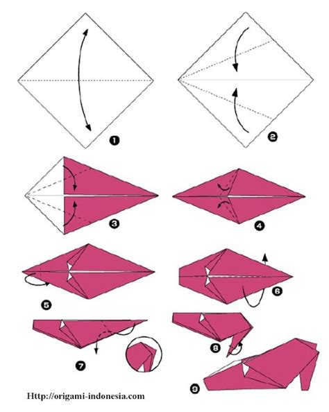 Origami Shoes - diagram klub origami indonesiacategory part 4