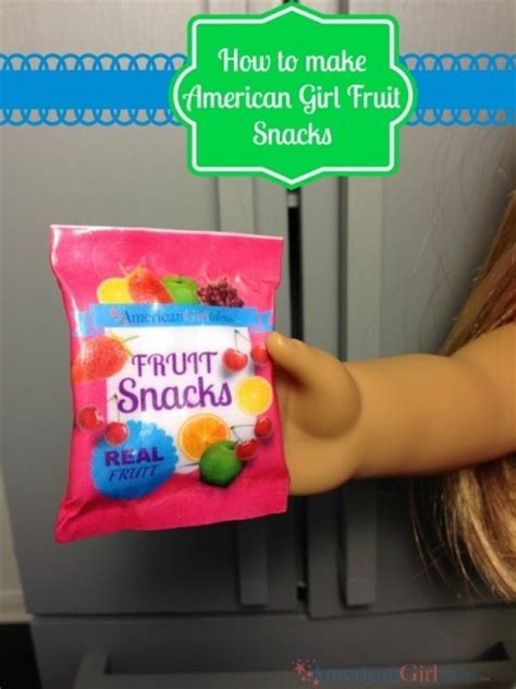 american fruit snacks american ideas