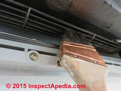 clean  moldy air conditioner