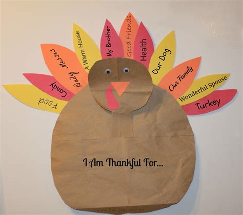 Make A Paper Turkey - 5 recycled thanksgiving crafts for