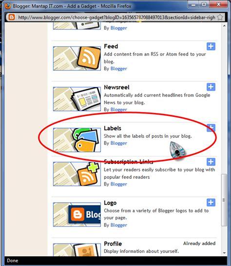 design label sendiri cara membuat label dan manage label pada blog mantap it com