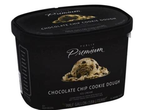 Publix brand ice cream recalled over cookie dough