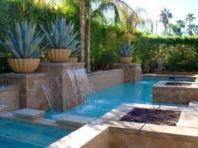 waterfalls for pools inground waterfalls for pools inground for geometric pool for small