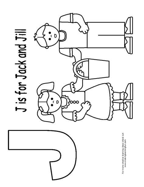 preschool coloring pages jack and jill jill coloring page coloring pages