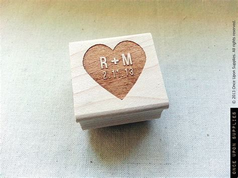 custom made rubber sts wedding custom wedding st with initials personalized st