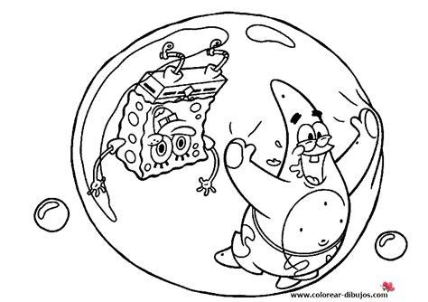 dibujos para pintar bob esponja bob esponja dibujos para colorear arenita mejilla y bob