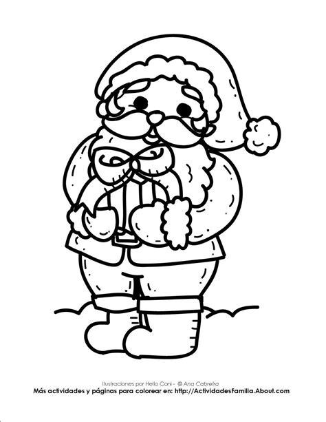 Imagenes De Santa Claus Para Colorear | navidad para colorear dibujo santa claus my blog