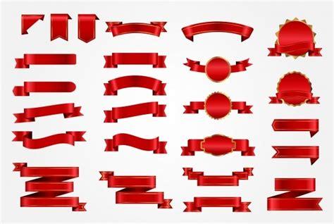 ribbons vectors  images  ai eps format