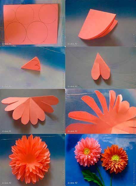 hacer flores de papel crepe 6 jpg noredirect car tuning de asignacion las 25 mejores ideas sobre dalia de papel en pinterest