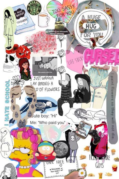 Princess Wall Art Stickers grunge collage iceprincess7492 fan art 36136255 fanpop