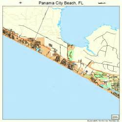 panama city florida map 1254725
