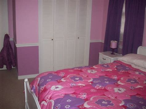 pink and purple girls bedroom pink and purple girls room love the two tones on the