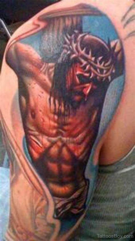 jesus cross tattoos on arm christian tattoos designs pictures page 11