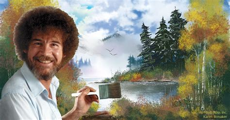 bob ross painting review paint like bob ross 174 corel discovery center