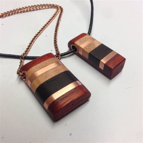 Handmade Wood Jewelry - handmade wooden pendant places to visit