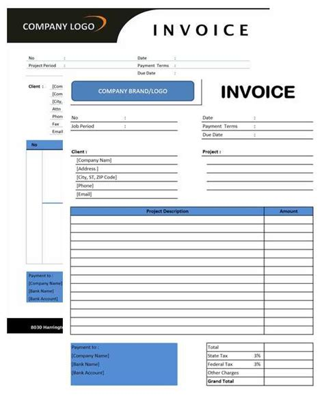 microsoft office invoice templates for excel free consultant invoice template