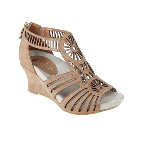 earthies sandals earthies carmona wedge sandals in lyst