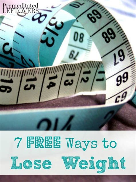 7 Ways To Lose Weight After by 7 Free Ways To Lose Weight