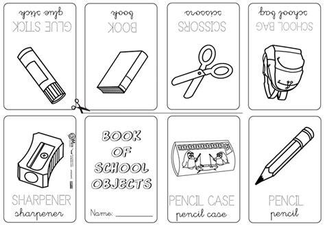 imagenes de utiles escolares en ingles para imprimir utiles escolares en ingl 233 s vocabulario imagui