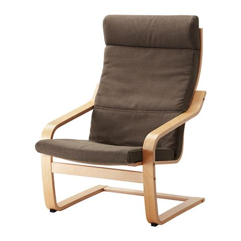 Poç Ng Armchair by Po 196 Ng Armchair Cushion Dansbo Medium Brown