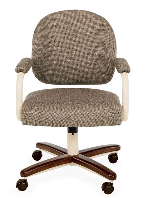 dinette swivel chair parts chromcraft c363 935 swivel tilt caster dinette chair