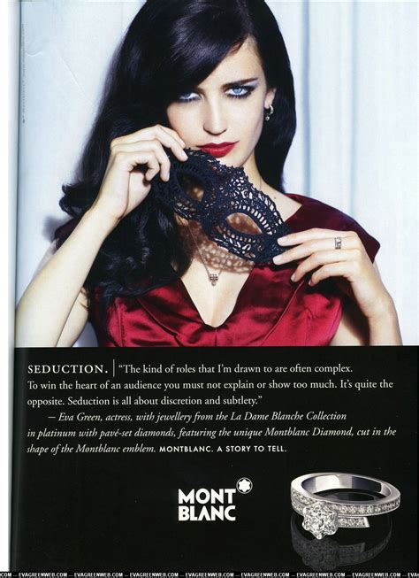 Photo Ad Montblanc Ads Green Photo 7636270 Fanpop