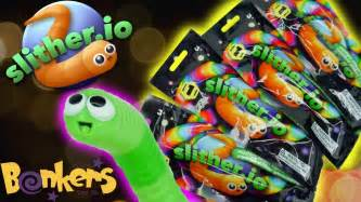 slither io blind bags from bonkers toys youtube